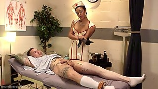 Kinky and nasty sex game is a dirty idea of sexy nurse Daisy Ducati