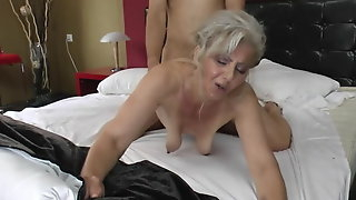 Saggy Hairy Old Mature