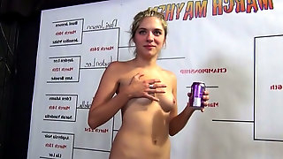 Hot sluts Lia Lor and Asphyixa Noir want to organize a cock sucking contest