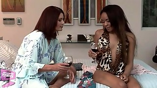 Magdalene St. Michaels & Jaslin Diaz in Lesbian Seductions #20, Scene #04