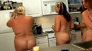 Naked Women in the Kitchen