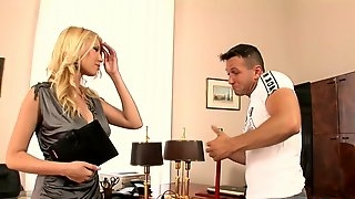 MILF Gets Humped In The Office - dona bell
